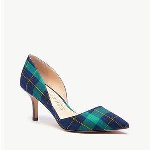 Sole Society Jenn d'Orsay Plaid Heels